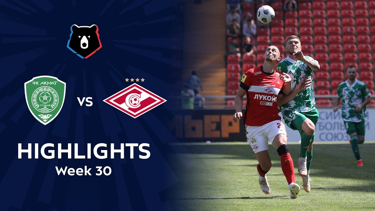 Highlights Akhmat vs Spartak (2-2) | RPL 2020/21