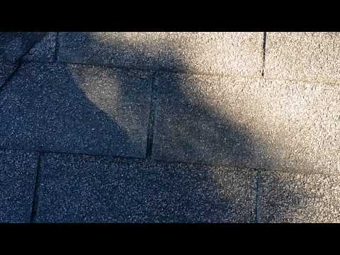 Roof Warning Signs - Asphalt Shingles - Loose Granules