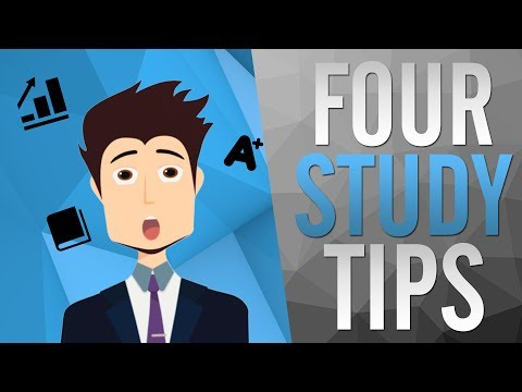 4 Advanced STUDY TIPS ► How To Get Better Grades & Do Well on Tests! ✔