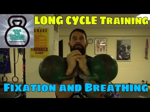 Kettlebell Long Cycle Breathing Ladder : Fixation and Heart Rate