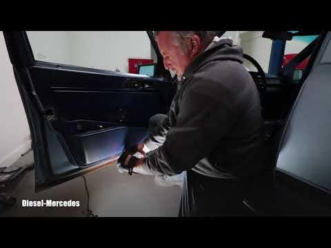 How To Remove Door Panel Mercedes W124