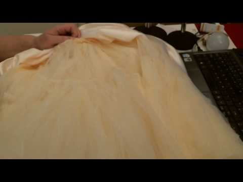 Under skirt Tulle and satin