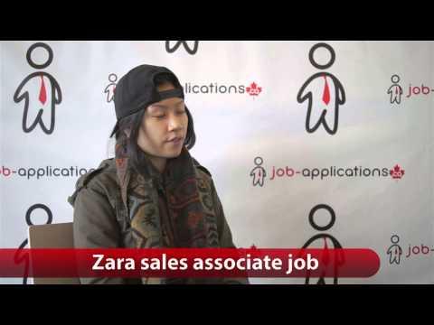 Zara Sales Associate Job