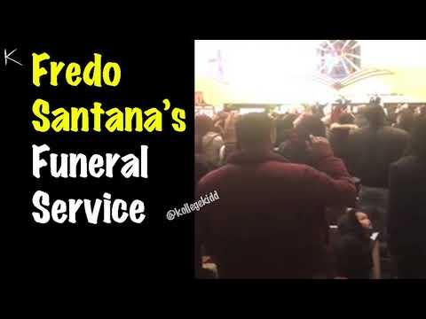 Fredo Santana's Funeral Service