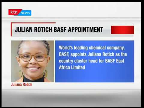 BASF appoints Juliana Rotich as Country Cluster Head  | Business Today