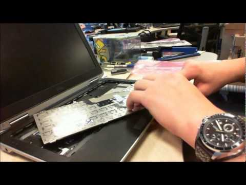 How to change Dell latitude E6420 keyboard