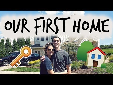 MOVING INTO OUR FIRST HOME + EMPTY HOUSE TOUR!