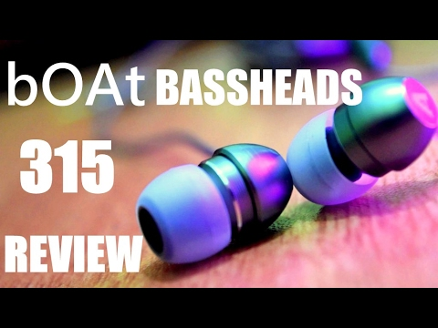 bOAt BassHeads 315 Earphones Review