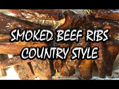 Smoked Beef Ribs On Masterbuilt Smoker | BUMMERS BAR-B-Q & SOUTHERN COOKING