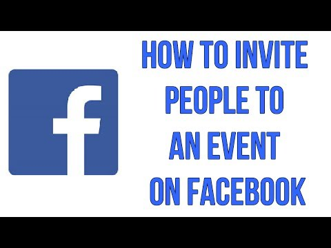 How To Invite People To An Event On Facebook