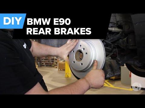 BMW E90 Rear Brake Replacement (328i Pads, Rotors, Sensors) FCP Euro