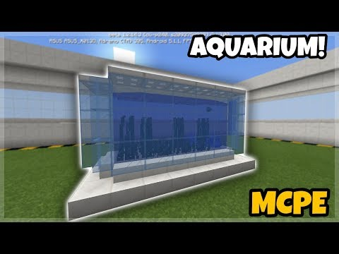 Minecraft PE: Aquarium/Fish Tank Tutorial