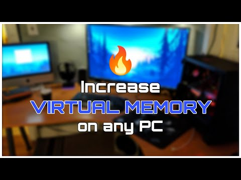 How To Increase VRAM ( Virtual Memory ) On Any PC