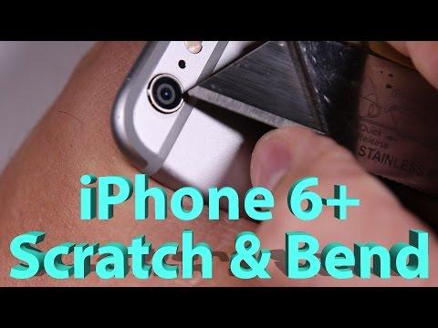 iPhone 6 Plus, Scratch test, burn test, BEND TEST!