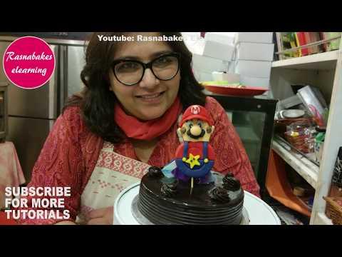 Super Mario: Cake decoration