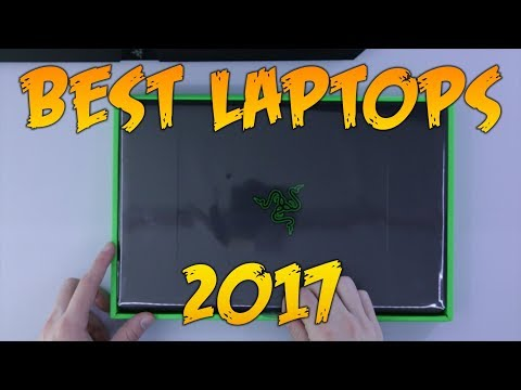 Top 5 Laptops for 2017 - What I would Buy!