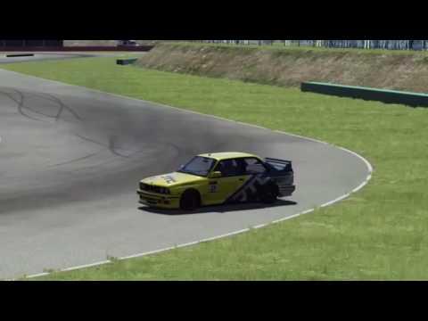 Assetto Corsa drifting - reverse, 360 entries