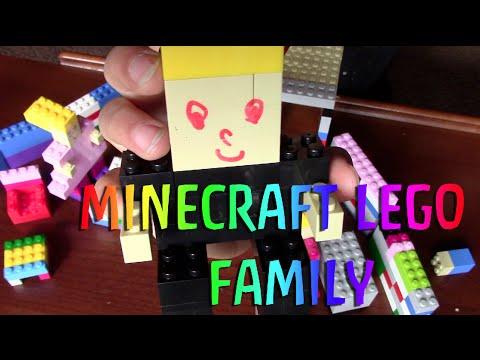 Minecraft Lego Family
