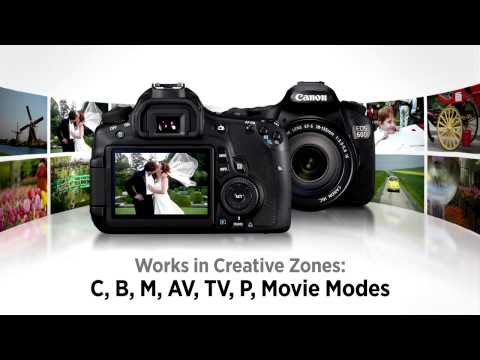 Canon EOS 60D Tutorial - In Camera RAW Processing 11/14