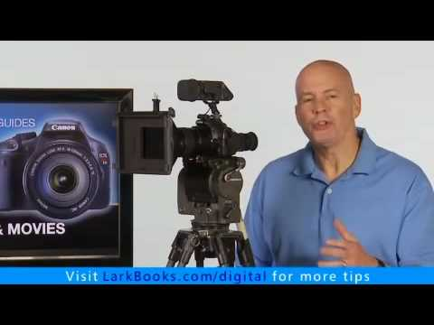 Shutter Speed for Movies with the Canon EOS Rebel T2i / EOS 550D