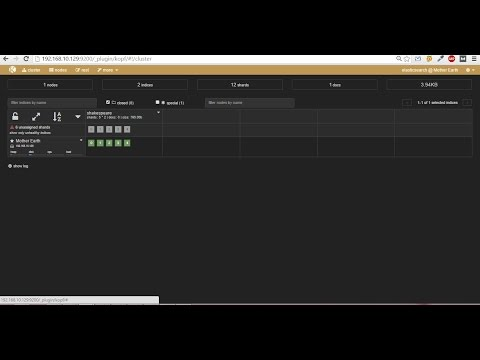 Install Kopf plugin for Elasticsearch on Ubuntu server 14.04