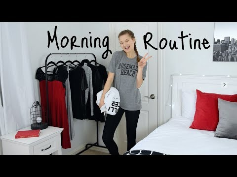 Productive Morning Routine // How to be a Morning Person!