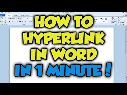 How To Hyperlink In Microsoft Word 2016 - Complete Hyperlink Microsoft Word Tutorial [Word 2013]