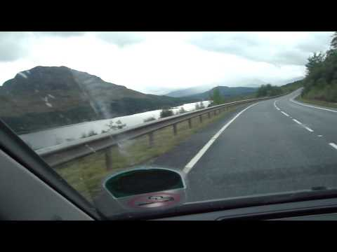 Rally Driving, Scottish Highlands (Offensive Language in Commentary)