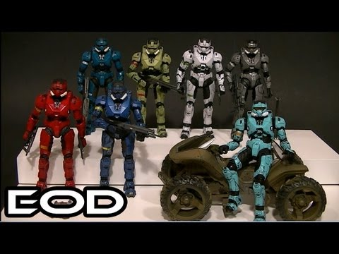 McFarlane HALO 3 EOD ARMOR Comparative Figure Review