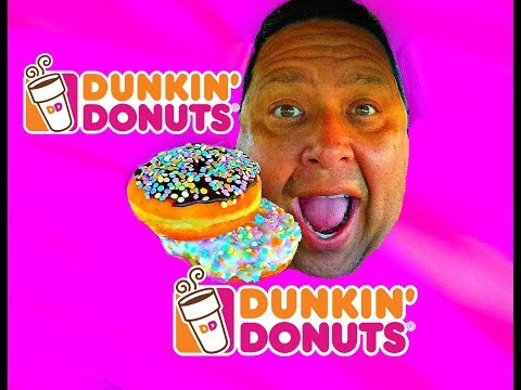 DUNKIN' DONUTS® Cake Batter Donuts Review!