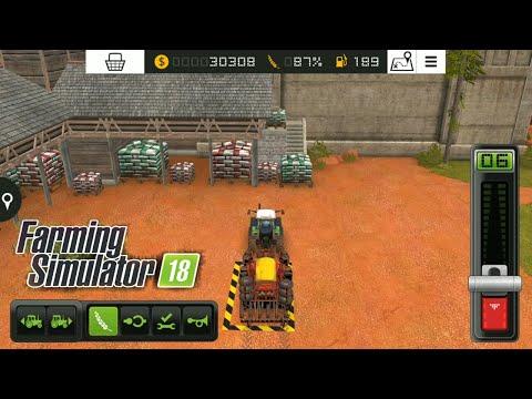 Fs18 farming simulator 18 - tohum nasıl alınır - how to take seed