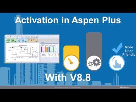 Activated Energy Analysis V8.8 in Aspen Plus