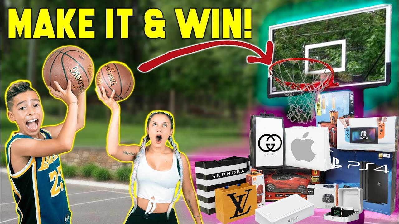 MAKE The SHOT, I'll BUY You ANYTHING Challenge! **KIDS Vs PARENTS** | The Royalty Family