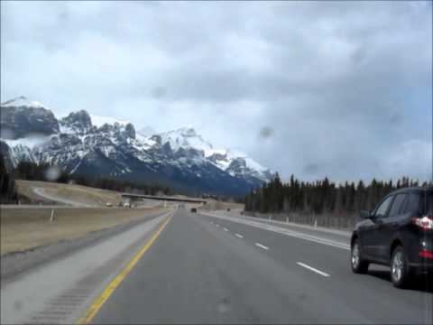 Arriving in Canmore from Calgary (Matthew Barber)
