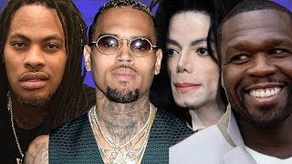 Waka Flocka Gets At 50 Cent For Dissing Michael Jackson In Chris Brown VS MJ Debate| FERRO REACTS