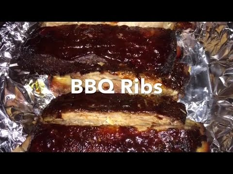 BBQ ribs (halogen oven)