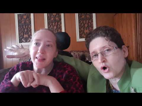 Micah and I Say Hello to You! Cerebral Palsy