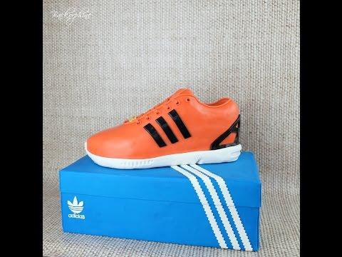 TUTORIAL Adidas ZX Flux Sneaker Cake