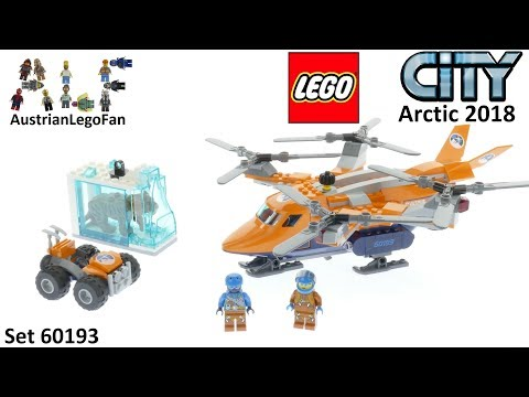 Lego City 60193 Arctic Air Transport - Lego Speed Build Review