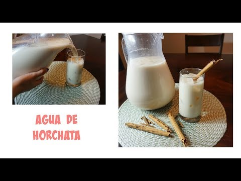 Easy, Simple, FAST Agua de Horchata ❣️|KarlaOnofree