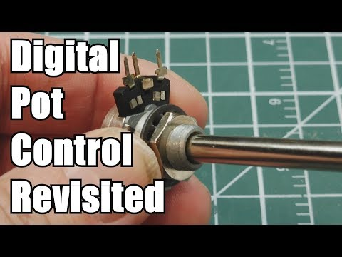 How to increase the output drive of a Digi-pot