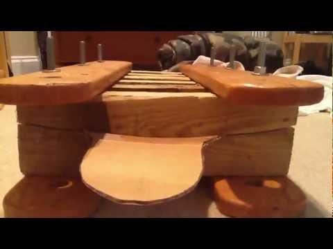 Longboard Concave press