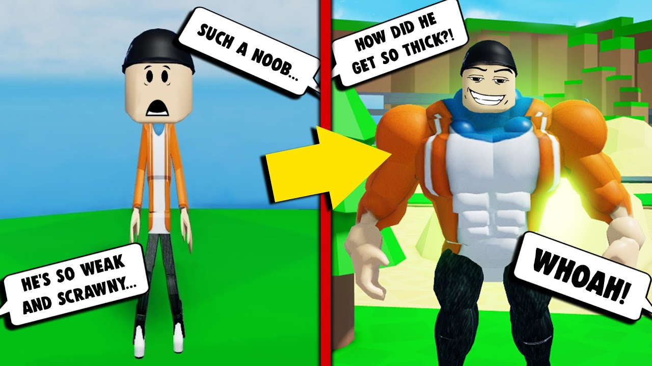 From Scrawny Little Boy to a THICK LEGEND in Roblox! | Roblox Thick Legends