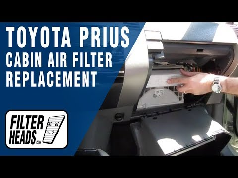 How to Replace Cabin Air Filter Toyota Prius
