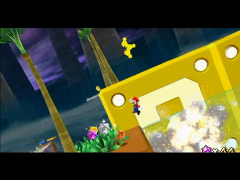 Super Mario Galaxy 2 Custom Level - Championship Galaxy Green Stars +Bonus