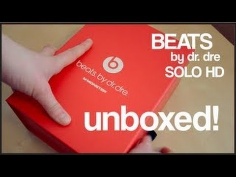 Beats Solo HD Unboxing