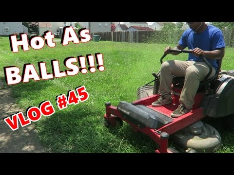 Mowing With SEF - VLOG 45 -