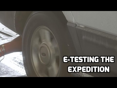 Emissions Testing the Expedition