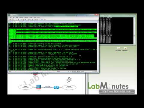 LabMinutes# SEC0024 - Cisco Router ASA Site-to-site (L2L) IPSec IKEv1 VPN with Certificate