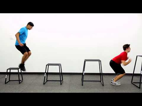 Compact Trapezoid Plyo Boxes from Gopher Sport